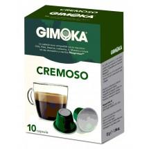 Capsulas cafe Gimoka CREMOSO - compatible nespresso