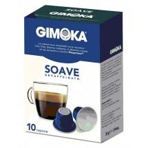 Capsulas café Gimoka SOAVE descafeinado - compatible nespresso