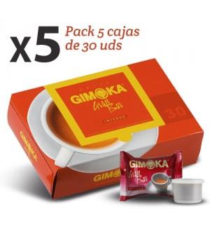 Cápsulas de cafe Gran Bar Gimoka (pack 150 Uds)