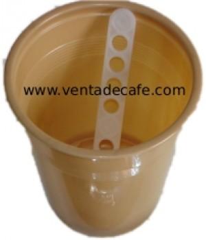 Pack de vaso y paletina (100 uds)